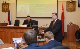 Смоленский губернатор отчитался перед Думой