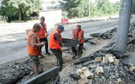 «Смоленскавтодор» проводит ремонт дорог в Смоленске строго по графику