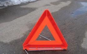 В Смоленской области автомобиль столкнулся с мотоциклом