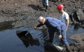 В Смоленском районе произошла утечка нефтепродуктов