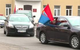 В Смоленск прибыли участники автопробега из Тулы
