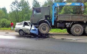 Две смоленские машины устроили смертельное ДТП под Зеленоградом