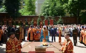 Ковчег с десницей великомученика Георгия Победоносца прибыл в Смоленск