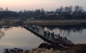 В Смоленской области ремонтируют аварийный мост