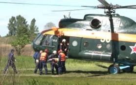 В Смоленской области провели учения специалисты поисково-спасательной базы гражданской авиации