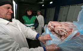 В Смоленск не довезли просроченное белорусское мясо