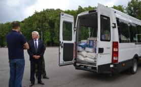 Груз гуманитарной помощи отправлен из Смоленска в Донецкую область