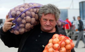 В Смоленской области растут цены на картофель