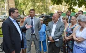 Смоляне обсудили с главой региона вопрос точечной застройки