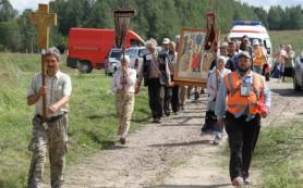 Крестный ход Севастополь – Керчь – Смоленск дошел до Рославля