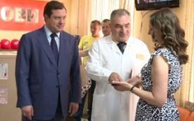 Глава администрации Смоленской области посетил Центр крови