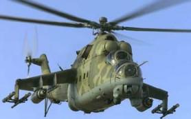 В Смоленской области разбился военный вертолет