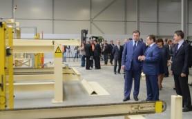 В Смоленской области запустили первую очередь деревообрабатывающего комбината
