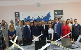 В десногорской школе открылся первый в России модульный атомкласс