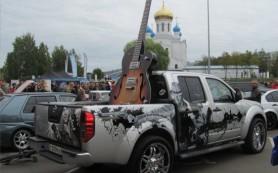 Диковинные машины показали на первом смоленском автофестивале