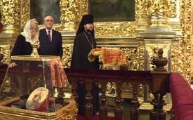 В Смоленск привезли мощи святых апостолов
