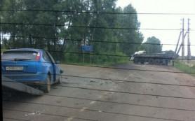 В сети появилось новое видео аварии в центре Смоленска
