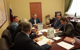 Алексей Островский встретился с первым заместителем Министра сельского хозяйства РФ