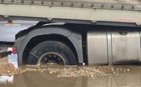 В Смоленске на Краснинском шоссе произошла массовая авария