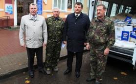 Смоляне отправили очередную партию гуманитарной помощи на Донбасс
