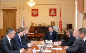 Губернатор встретился с руководством ПАО «Квадра»
