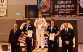 Шестнадцатилетняя смолянка стала чемпионкой мира по гиревому спорту