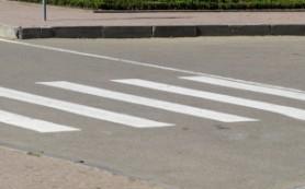 LADA Granta сбила пенсионерку на пешеходном переходе улицы Кутузова в Смоленске