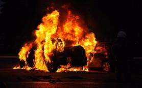 Ночью на трассе М-1 сгорела «ГАЗель»