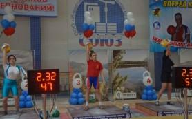 Алина Васькина из Смоленска завоевала золото Первенства России по гиревому спорту