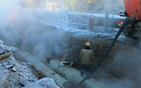 На Киселёвке произошла авария на теплотрассе