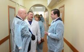 Губернатор посетил Руднянский район