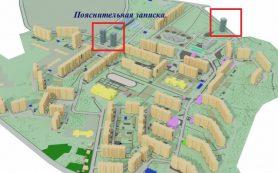 В микрорайоне Королёвка планируют возвести 16-этажные паркинги