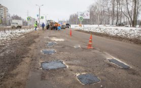 На ремонт пяти улиц Смоленска подана заявка в Дорожный фонд