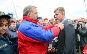 15-летний школьник из Смоленской области награжден медалью «За спасение утопающих»