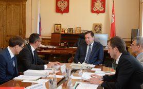 Губернатор встретился с представителями группы компаний «ЭГГЕР»