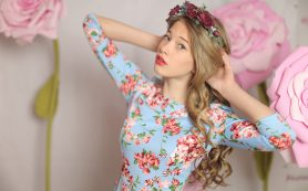13-летняя модель из Смоленска примет участие в показе в Италии