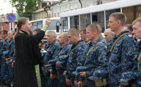 Смоленские полицейские проводили коллег на Кавказ