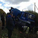 В Смоленской области в аварии погиб водитель автобетономешалки