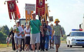 Молодёжный Крестный ход пройдёт от Витебска до Смоленска