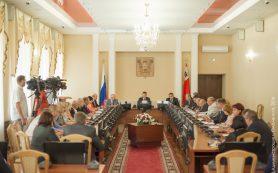 В Смоленске состоялось очередное совещание администрации города