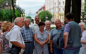Делегация ветеранов из Орловской области прибыла в Смоленск