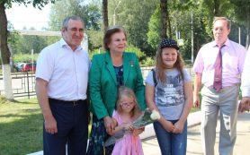 Первая в мире женщина-космонавт Валентина Терешкова посетила Смоленск