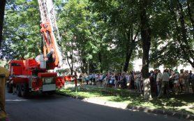 В Смоленске при пожаре погиб мужчина