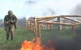 В Смоленске курсанты проходят общевойсковую подготовку