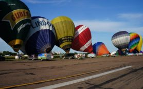 В Смоленске может появиться фестиваль воздушных шаров