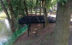 В Лопатинском саду появится смотровая площадка