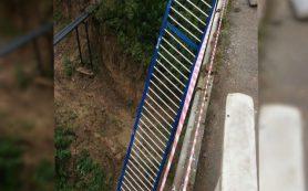 Чертов мост в Смоленске стал опасен для жизни