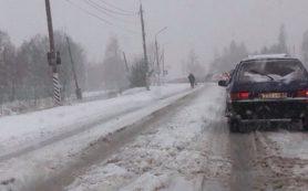 В Смоленской области столкнулись три иномарки