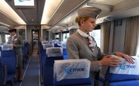 Первый скоростной международный поезд проследовал через Смоленск