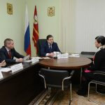 Алексей Островский провел прием граждан по личным вопросам